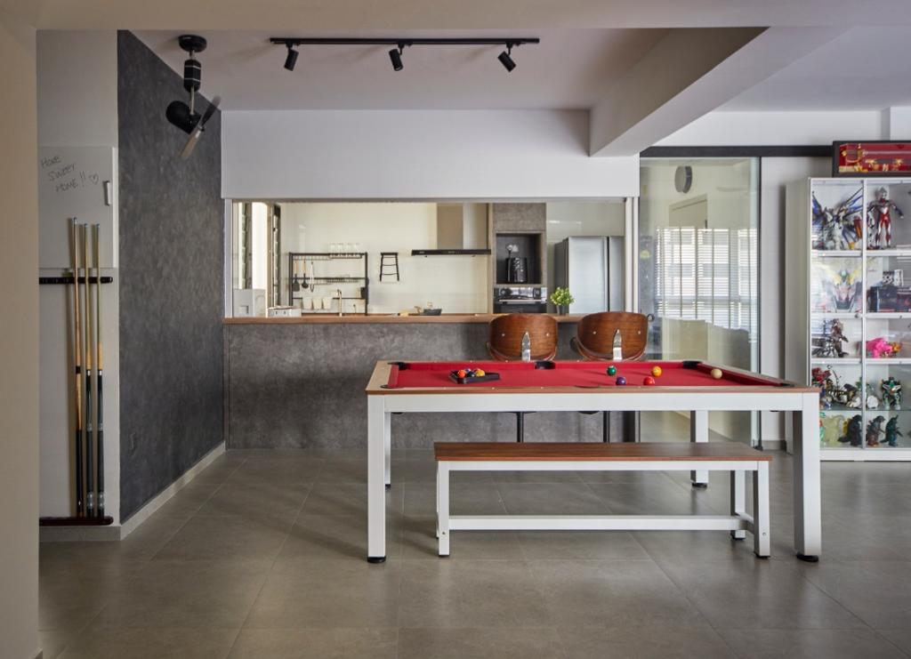 Contemporary, HDB, Bukit Batok Street 41, Interior Designer, Carpenters 匠, Scandinavian