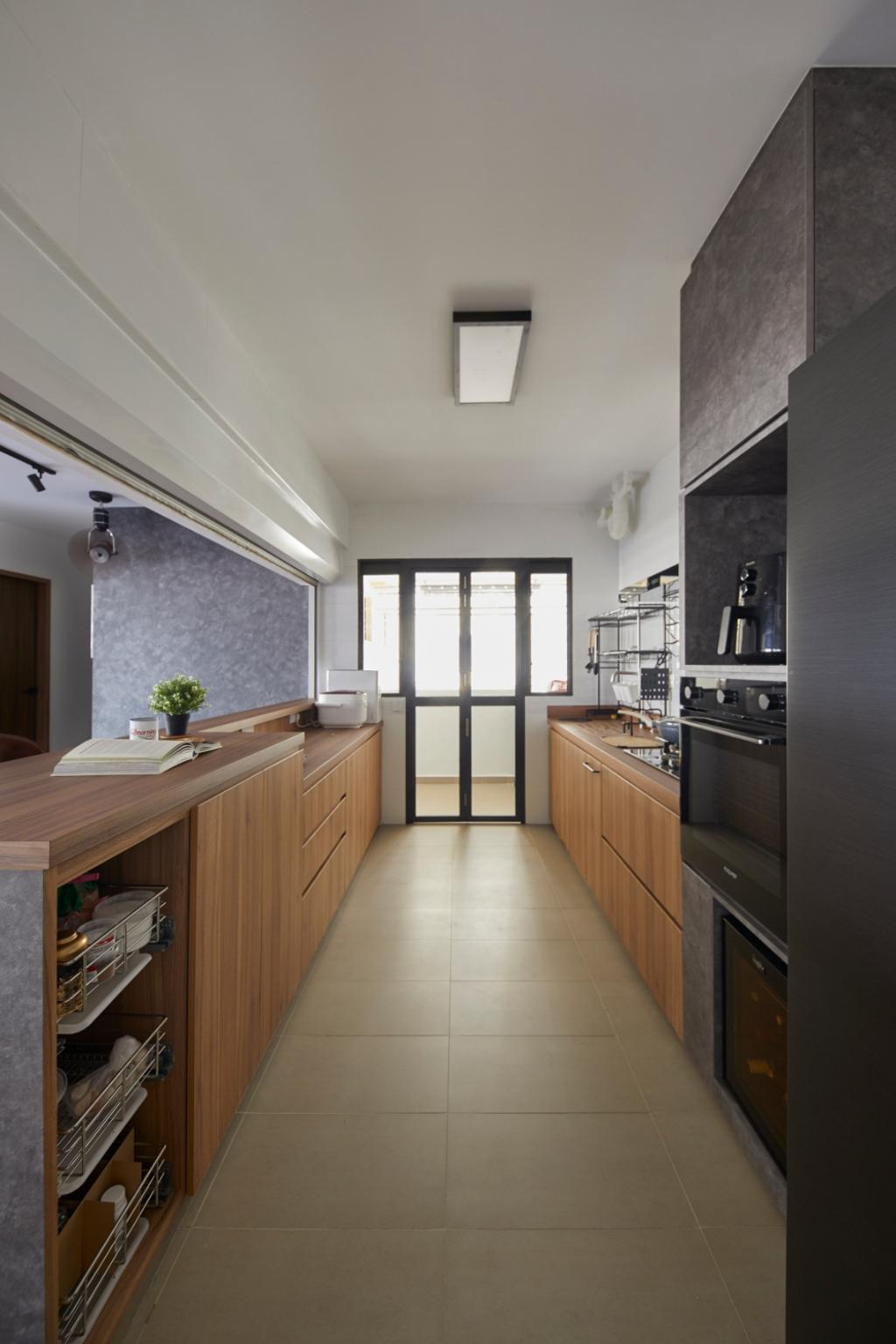 Contemporary, HDB, Kitchen, Bukit Batok Street 41, Interior Designer, Carpenters 匠, Scandinavian