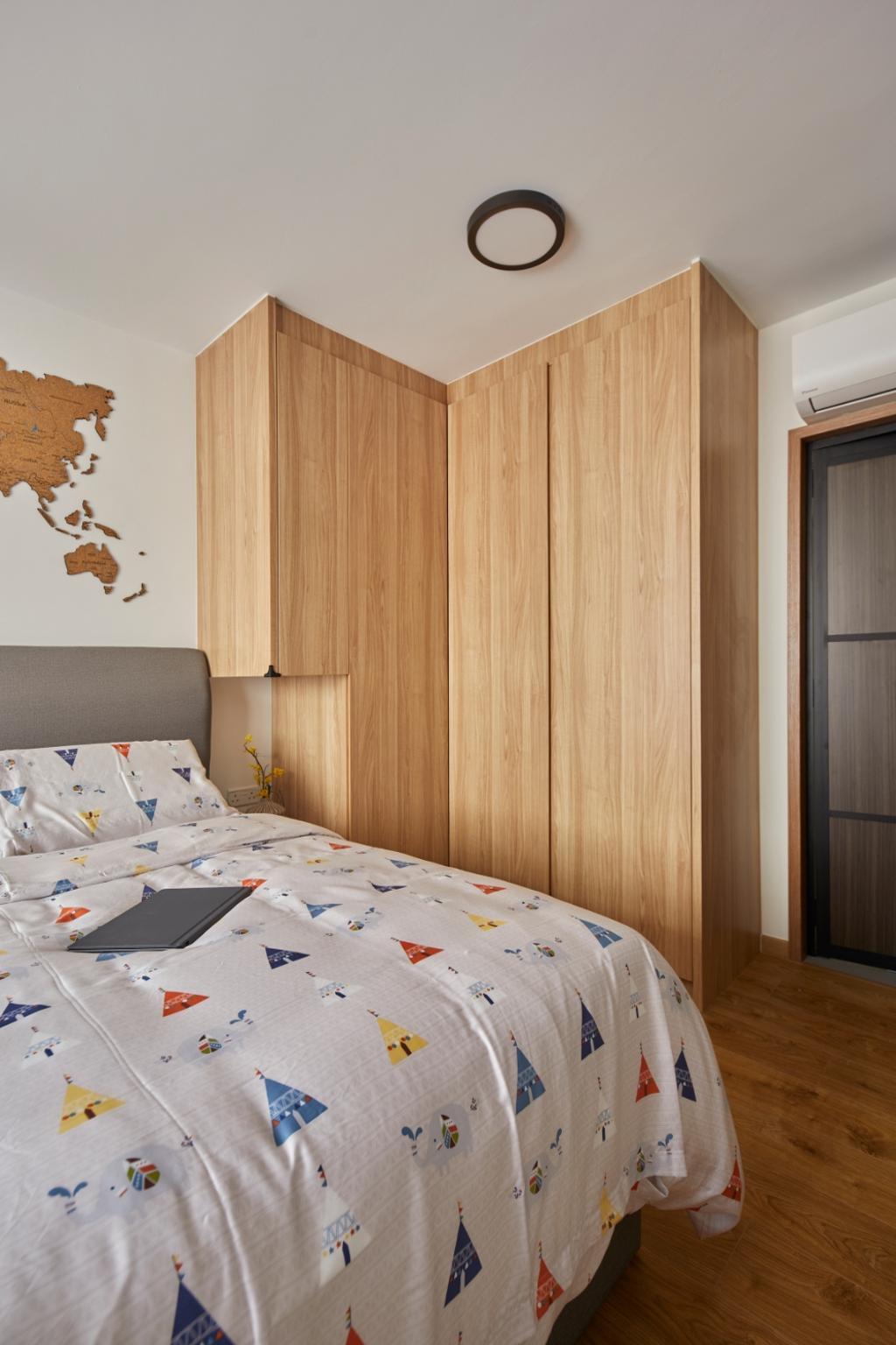 Contemporary, HDB, Bedroom, Bukit Batok Street 41, Interior Designer, Carpenters 匠, Scandinavian