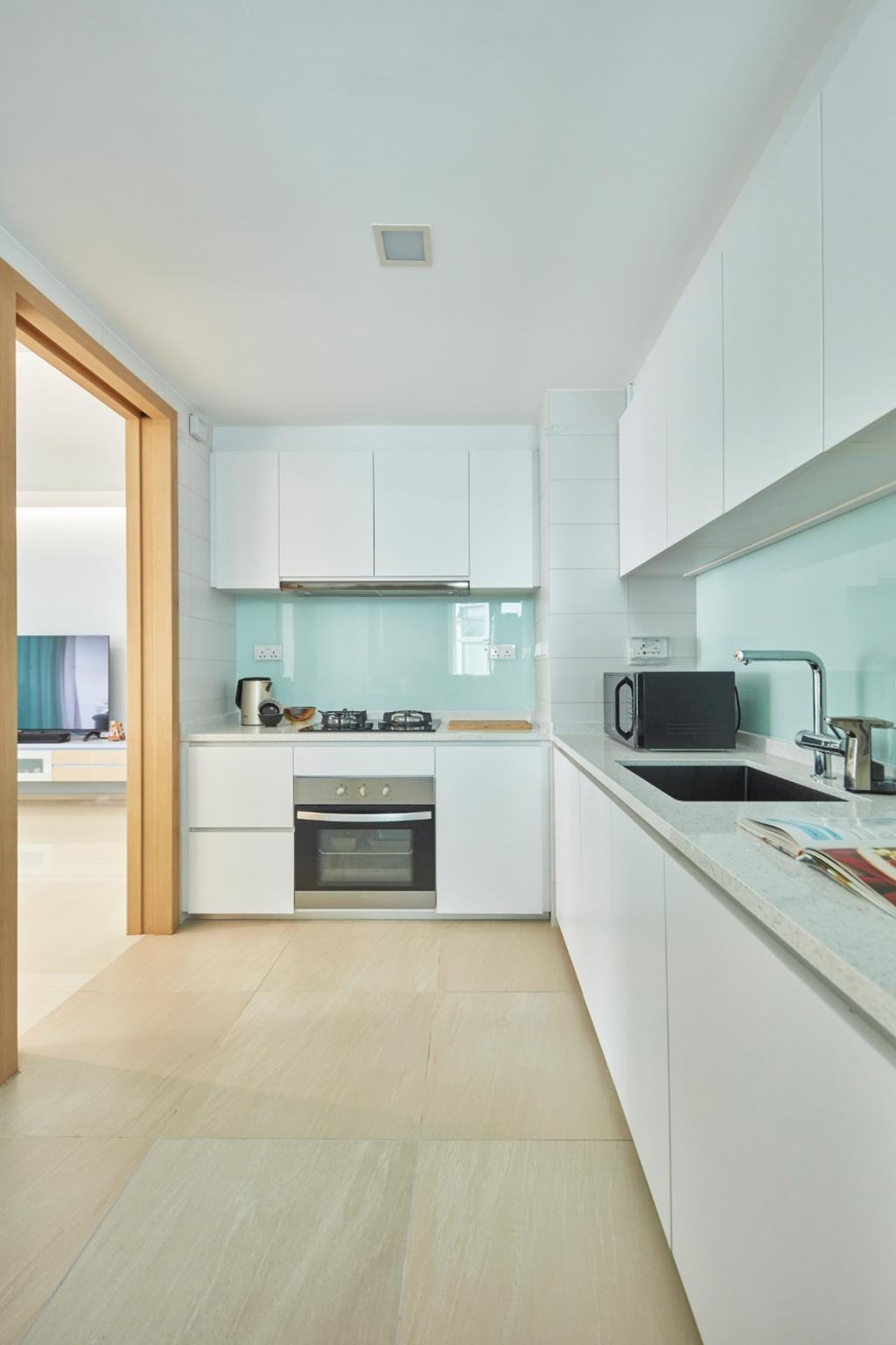 Modern, Condo, Kitchen, Ripple Bay, Interior Designer, Carpenters 匠