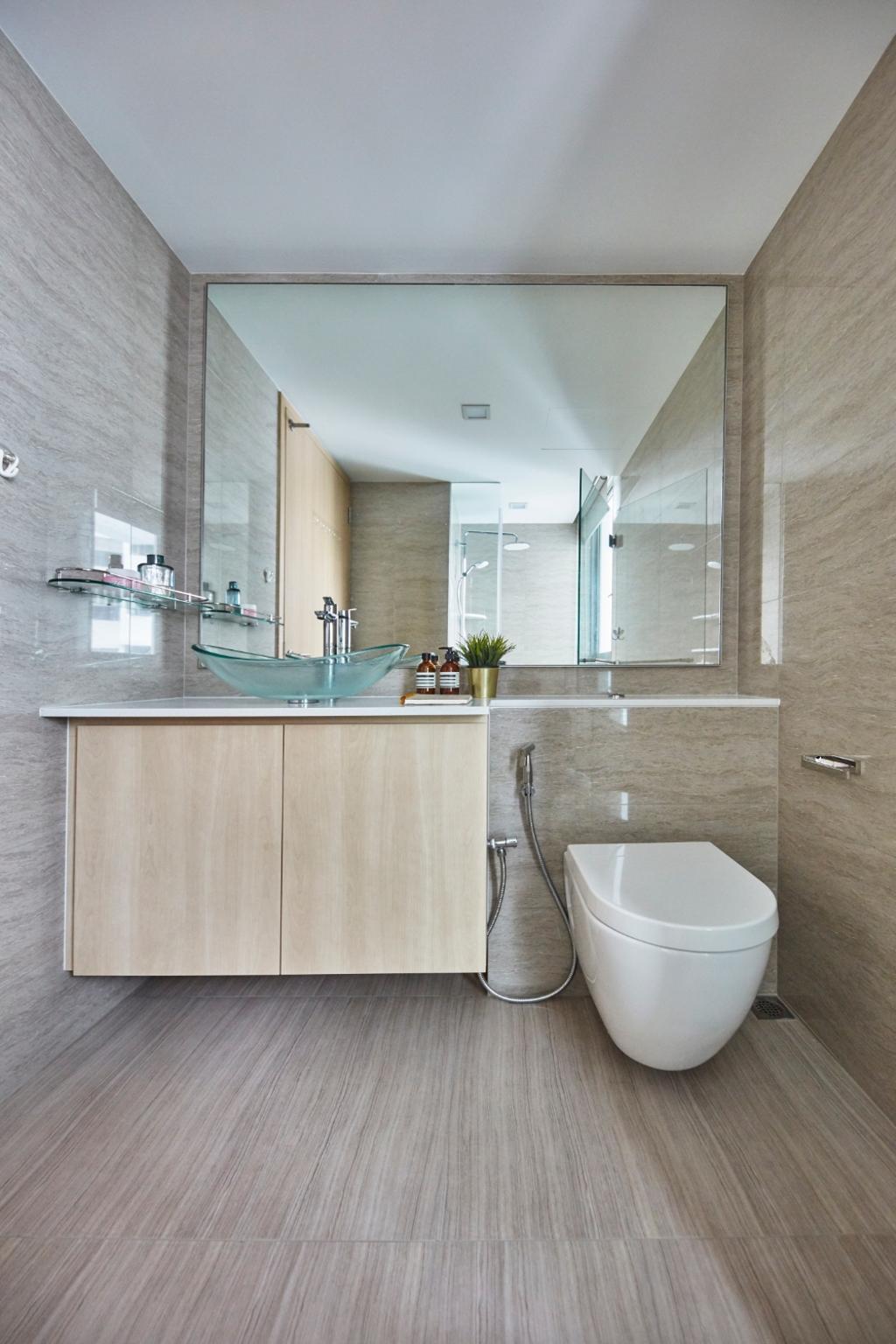 Modern, Condo, Bathroom, Ripple Bay, Interior Designer, Carpenters 匠