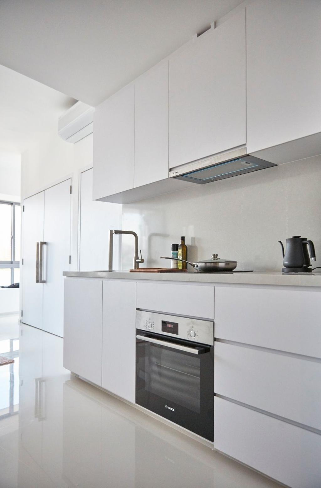 Minimalistic, Condo, Kitchen, Everitt Edge, Interior Designer, Carpenters 匠