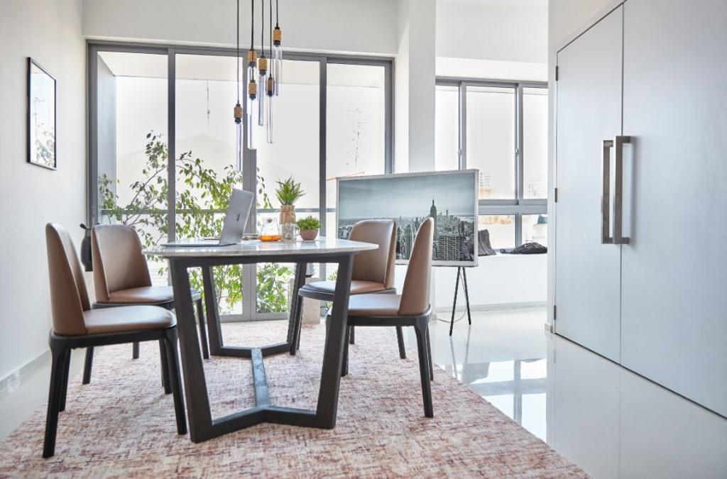 Minimalistic, Condo, Dining Room, Everitt Edge, Interior Designer, Carpenters 匠