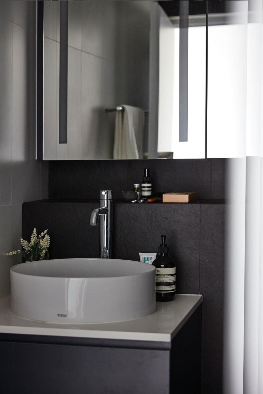 Minimalistic, Condo, Bathroom, Everitt Edge, Interior Designer, Carpenters 匠