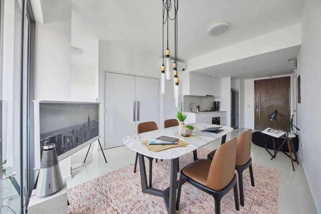 Minimalistic, Condo, Living Room, Everitt Edge, Interior Designer, Carpenters 匠