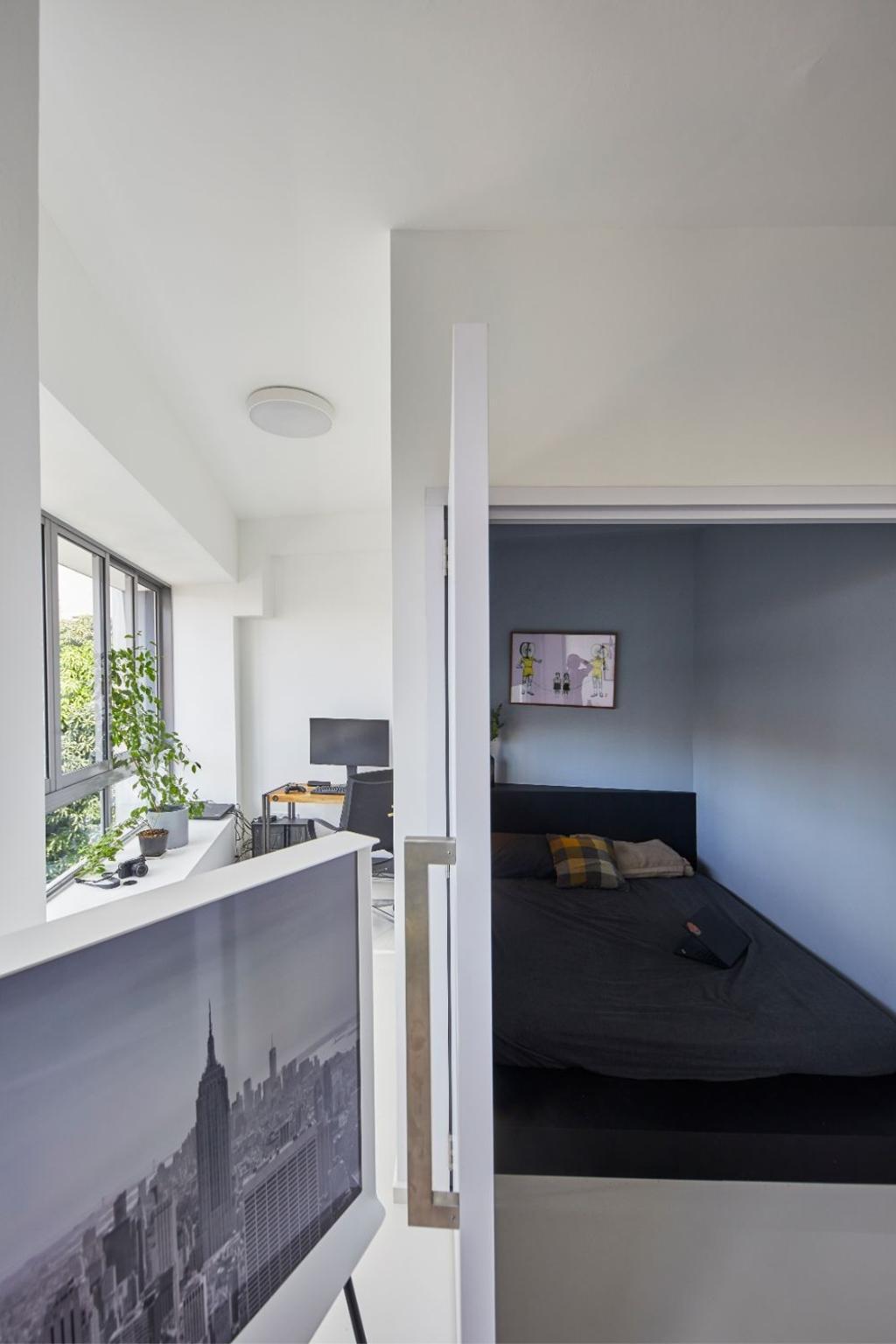 Minimalistic, Condo, Bedroom, Everitt Edge, Interior Designer, Carpenters 匠