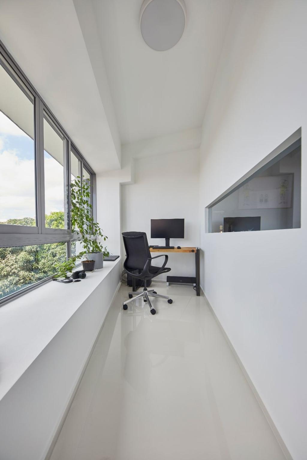 Minimalistic, Condo, Study, Everitt Edge, Interior Designer, Carpenters 匠