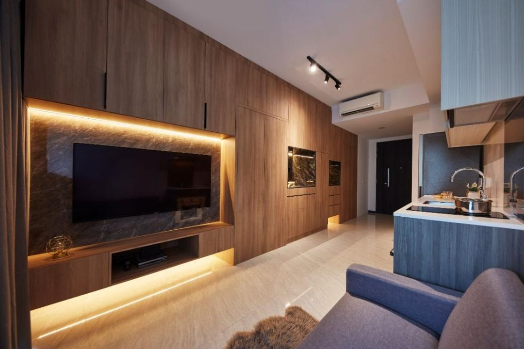 Gem Residences Living Room Interior Design 10