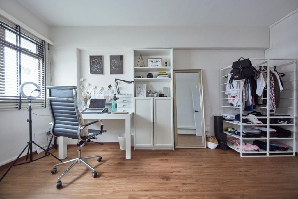 Contemporary, HDB, Study, Hougang Street 31, Interior Designer, Carpenters 匠