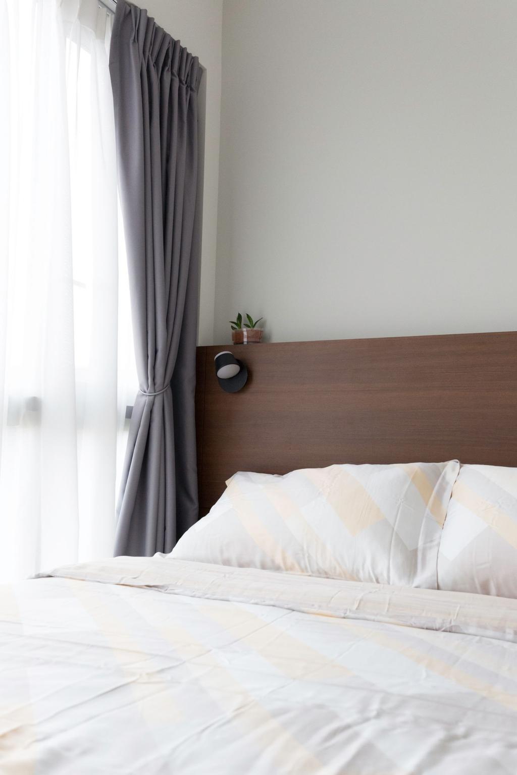 Scandinavian, Condo, Bedroom, Bartley Residences, Interior Designer, Carpenters 匠
