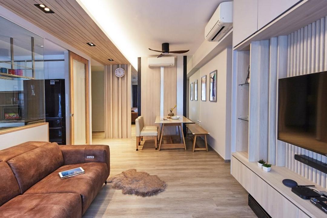 Hundred Palms Residences Living Room Interior Design 23