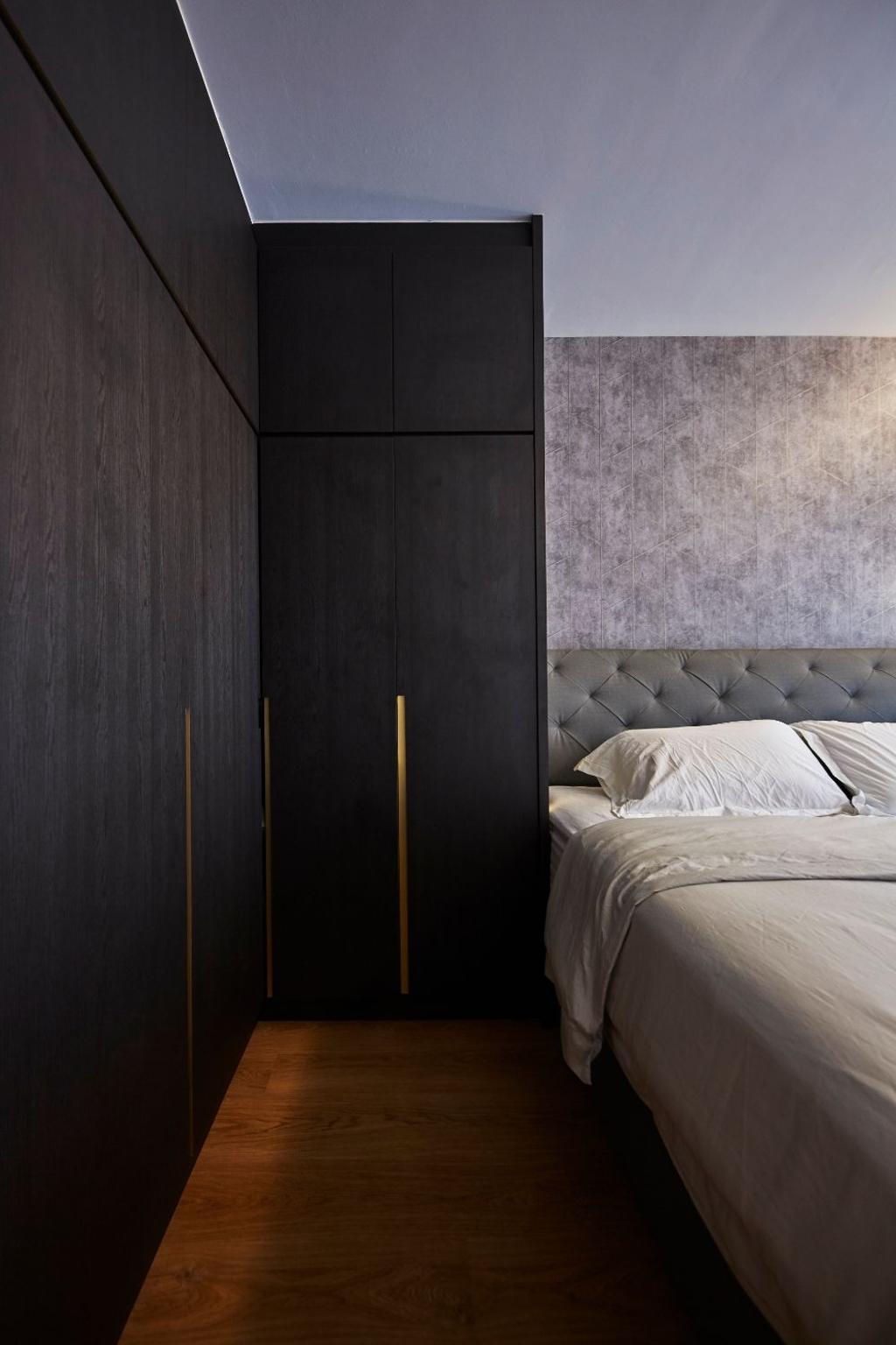 Modern, Condo, Bedroom, Hundred Palms Residences, Interior Designer, Carpenters 匠, Scandinavian
