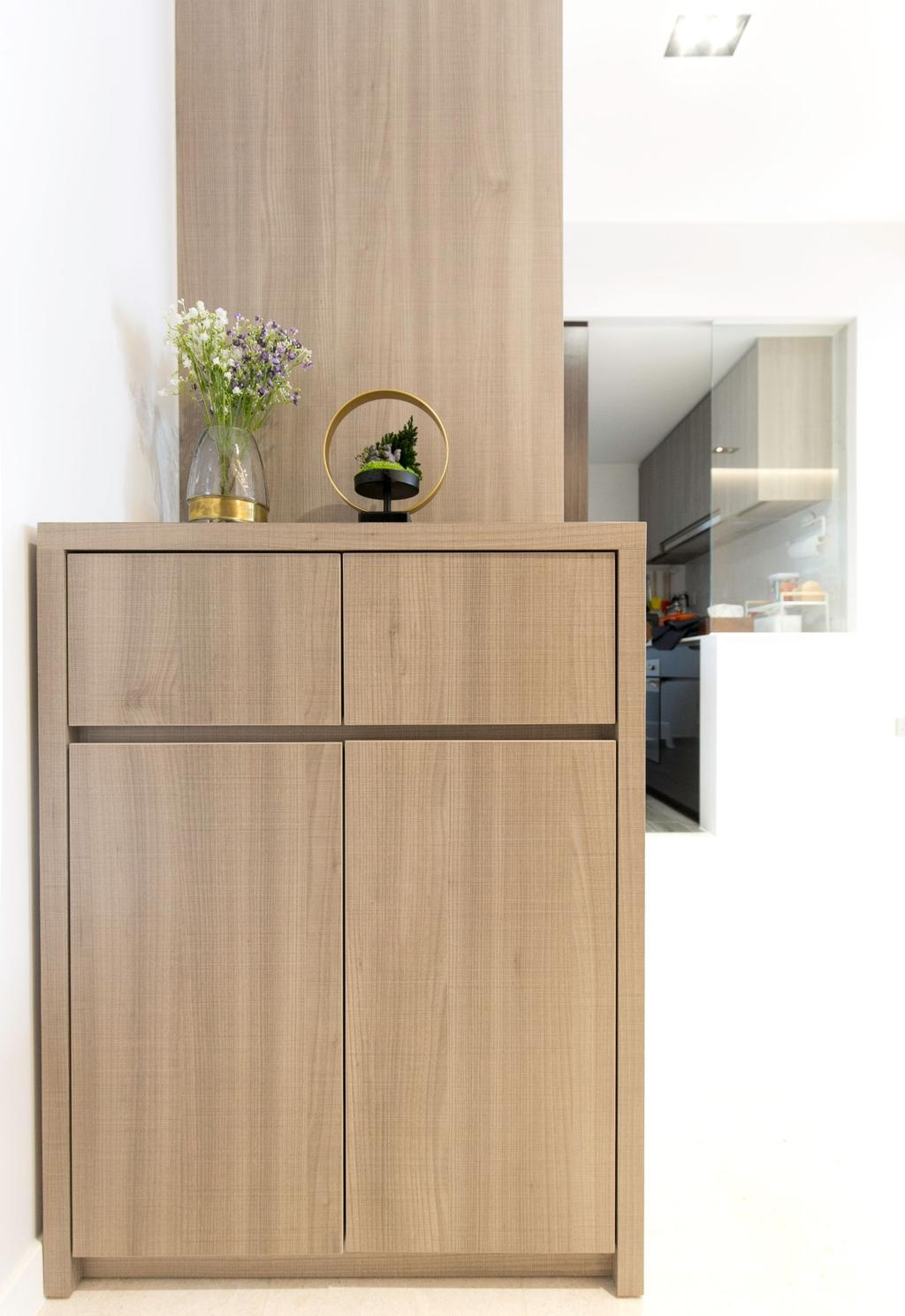 Contemporary, Condo, Living Room, Botanique at Bartley, Interior Designer, Carpenters 匠