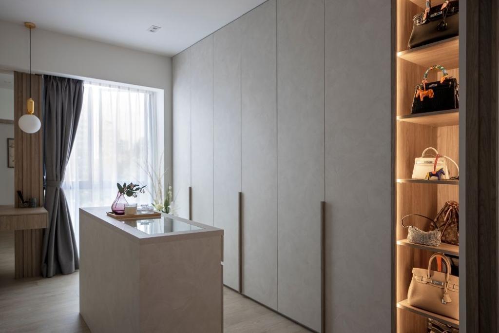 Contemporary, Condo, Bedroom, Regentville, Interior Designer, Carpenters 匠, Scandinavian