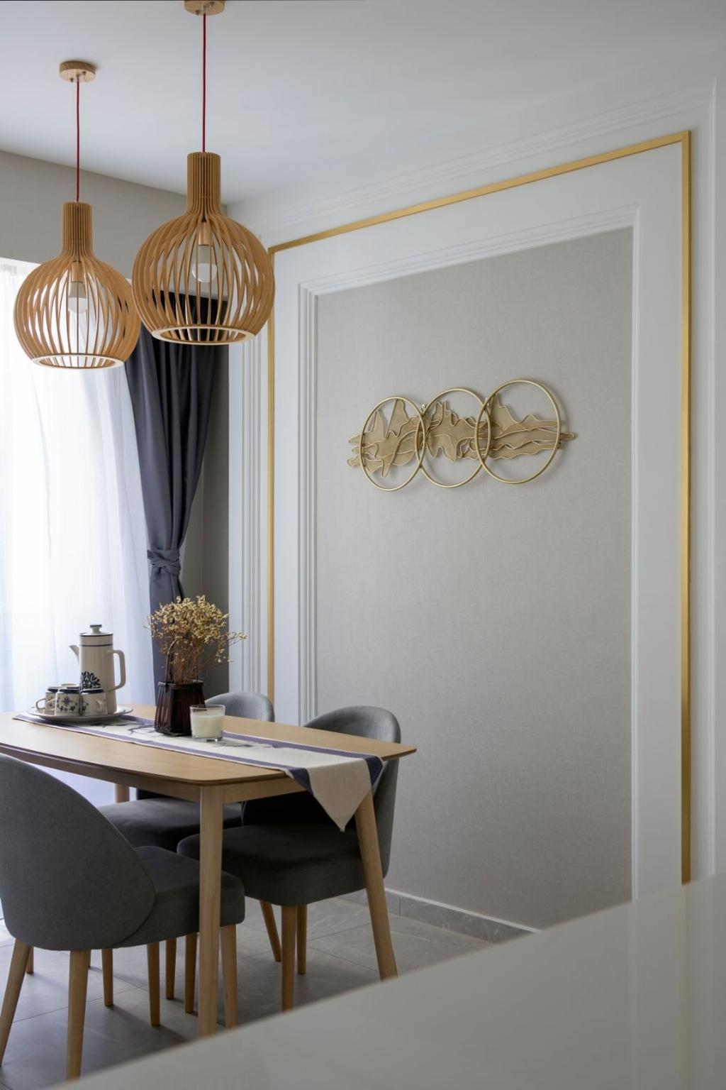 Contemporary, Condo, Dining Room, Regentville, Interior Designer, Carpenters 匠, Scandinavian