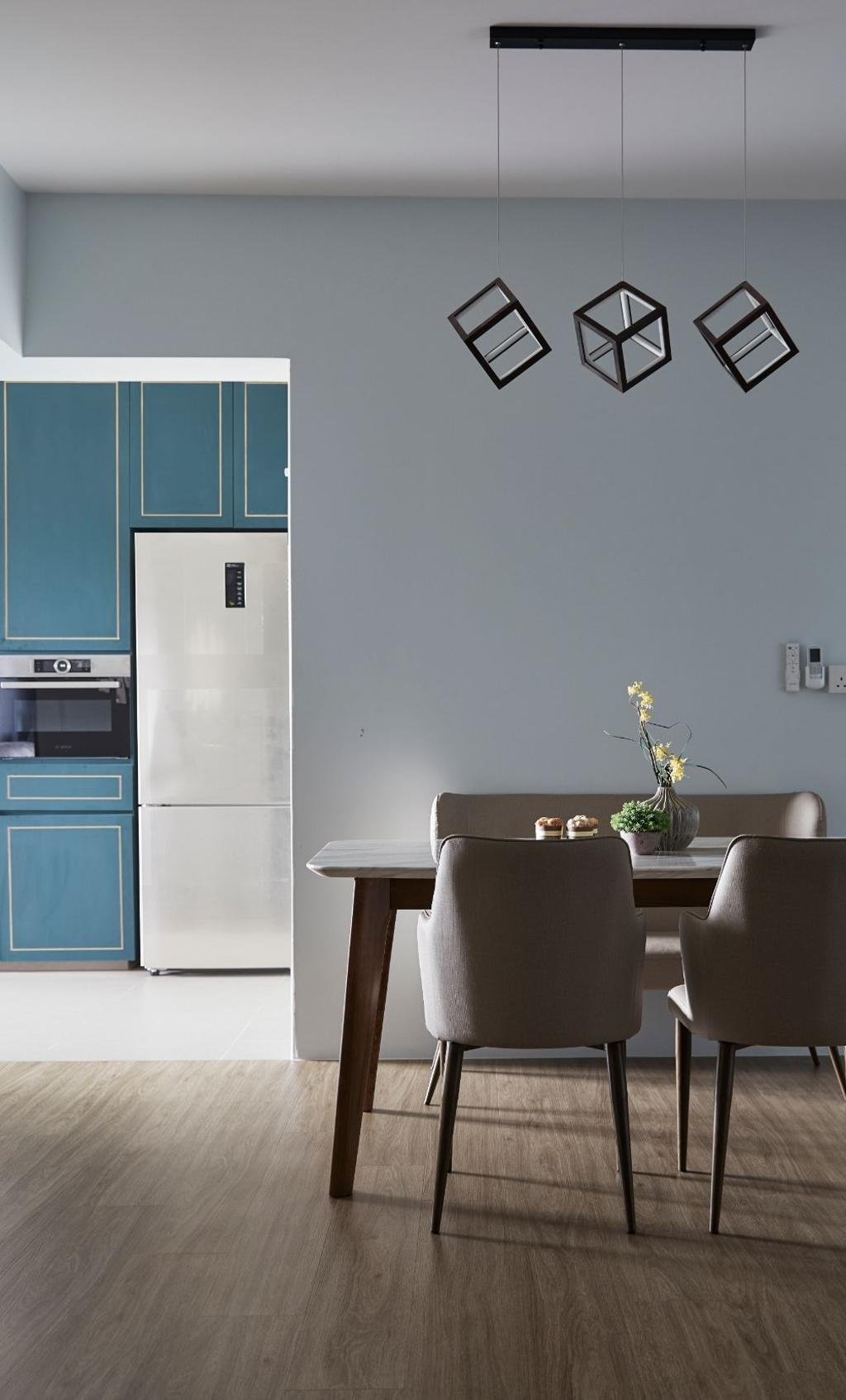Modern, HDB, Dining Room, Sengkang West Road, Interior Designer, Carpenters 匠, Contemporary