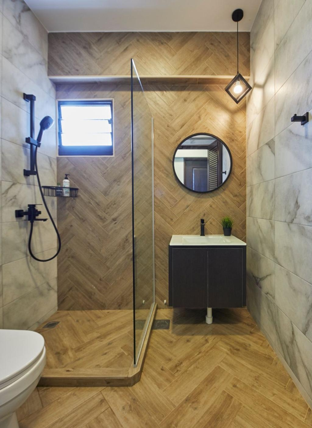 Modern, HDB, Sengkang West Road, Interior Designer, Carpenters 匠, Contemporary