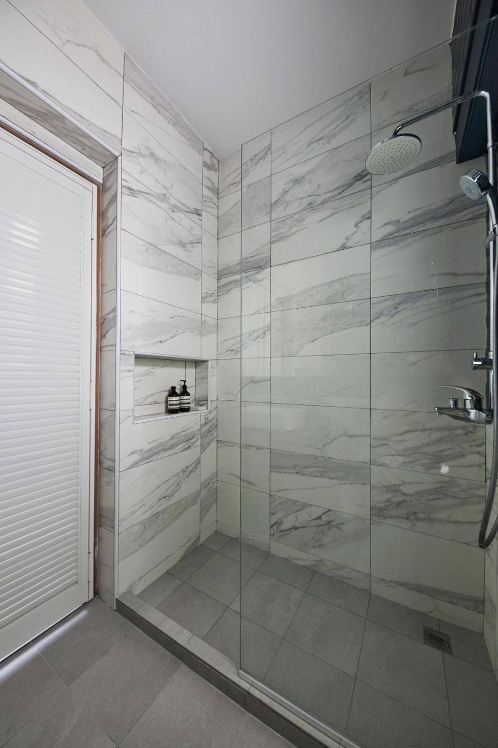 Modern, HDB, Bathroom, Sengkang West Road, Interior Designer, Carpenters 匠, Contemporary