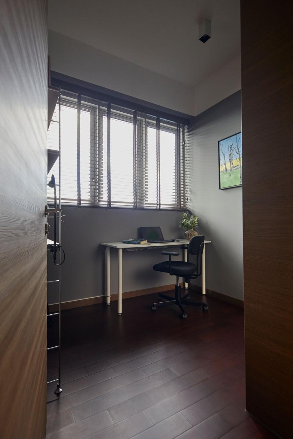 Modern, Condo, Study, Queens Peak, Interior Designer, Carpenters 匠, Contemporary
