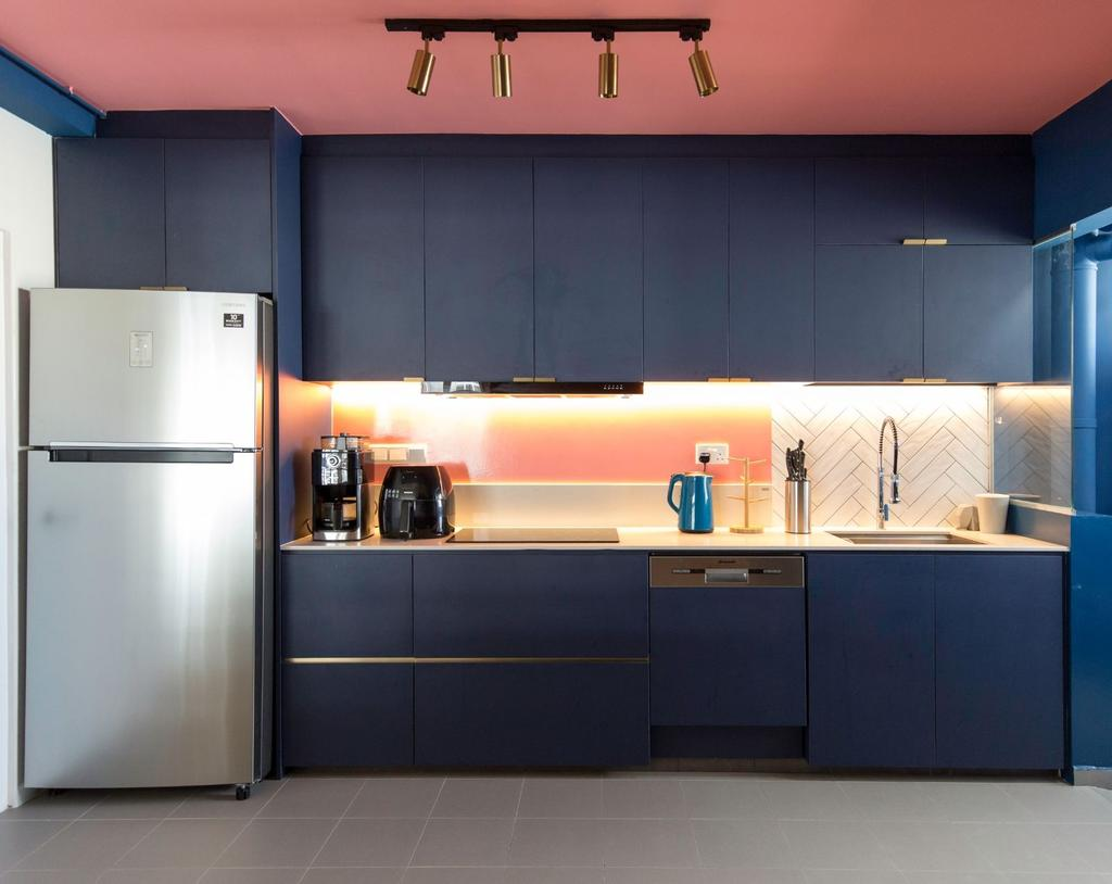 Modern, HDB, Kitchen, Sumang Lane, Interior Designer, Carpenters 匠, Contemporary