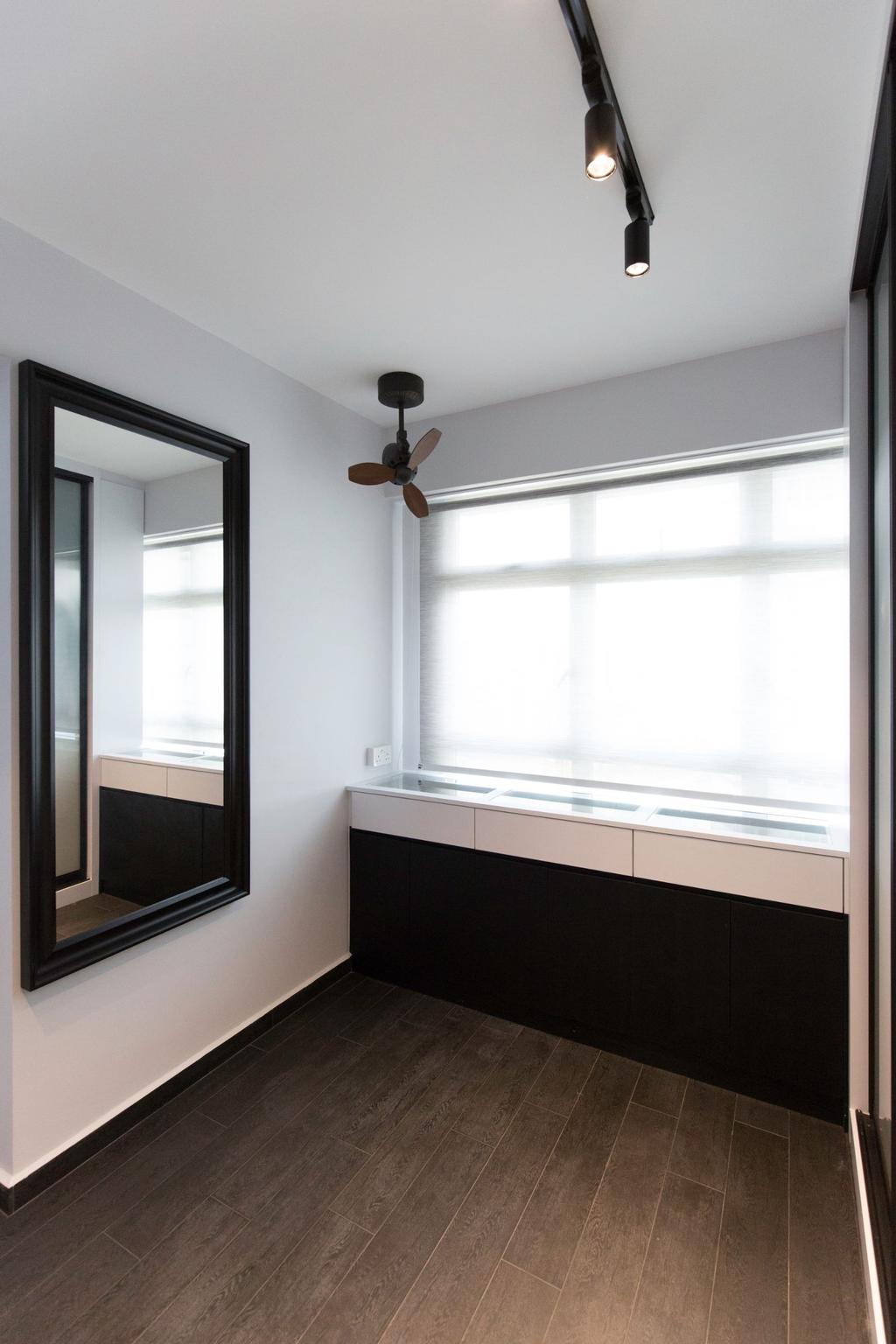 Modern, HDB, Bedroom, Sumang Lane, Interior Designer, Carpenters 匠, Contemporary