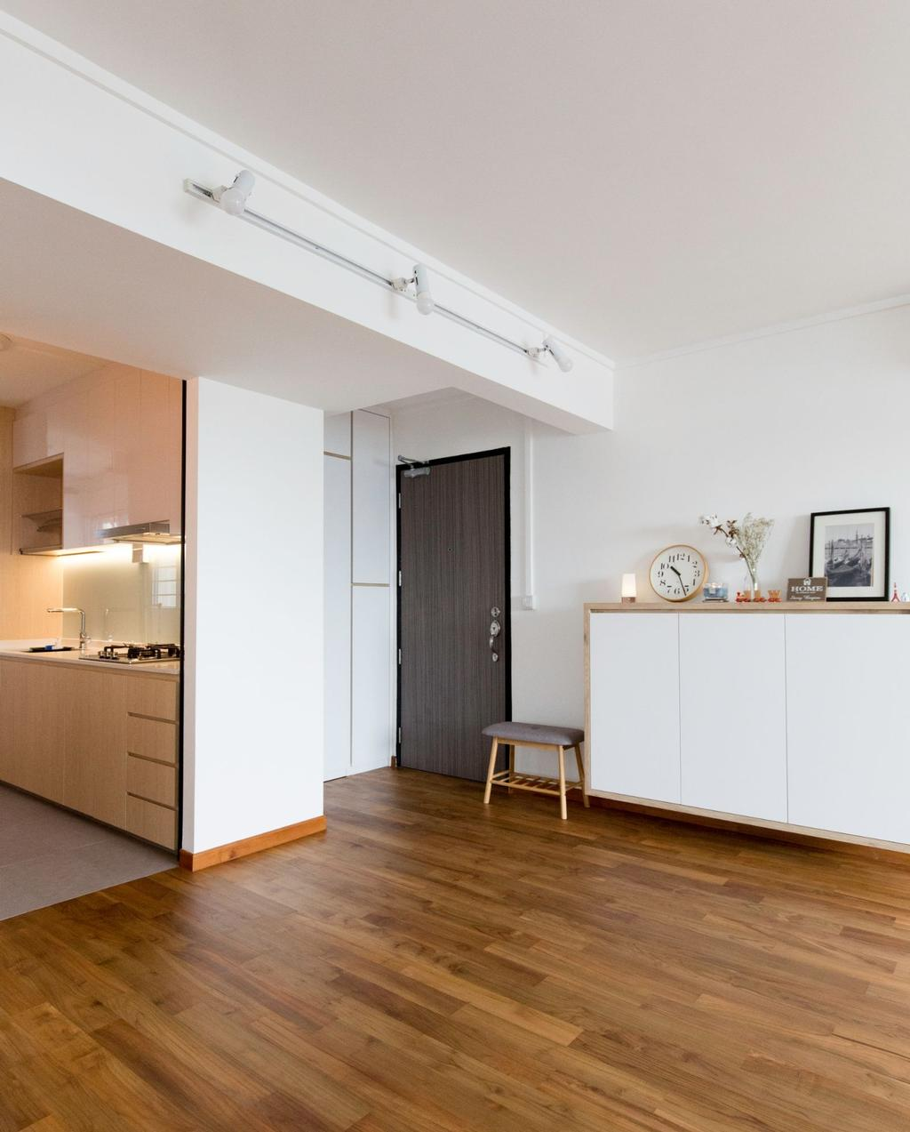 Scandinavian, HDB, Living Room, Bishan Street 12, Interior Designer, Carpenters 匠