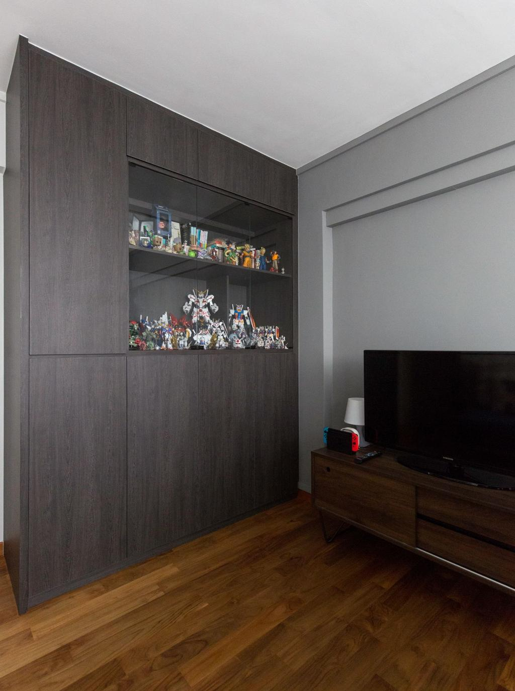 Scandinavian, HDB, Bedroom, Bishan Street 12, Interior Designer, Carpenters 匠
