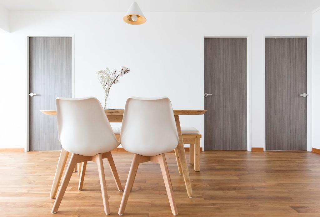 Scandinavian, HDB, Dining Room, Bishan Street 12, Interior Designer, Carpenters 匠