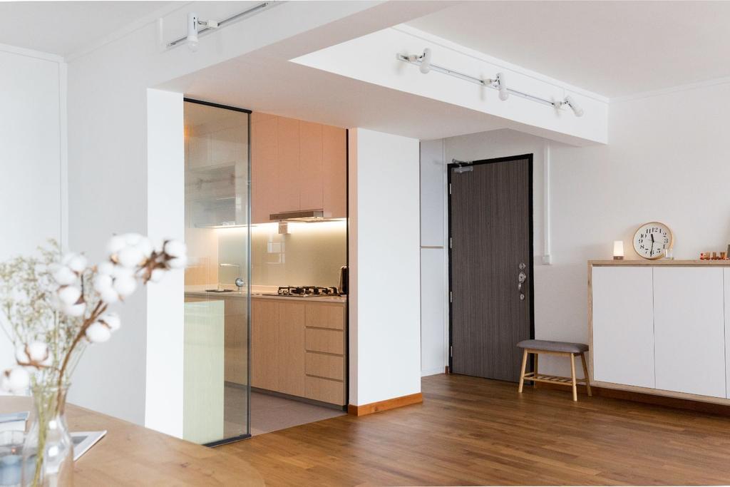 Scandinavian, HDB, Kitchen, Bishan Street 12, Interior Designer, Carpenters 匠