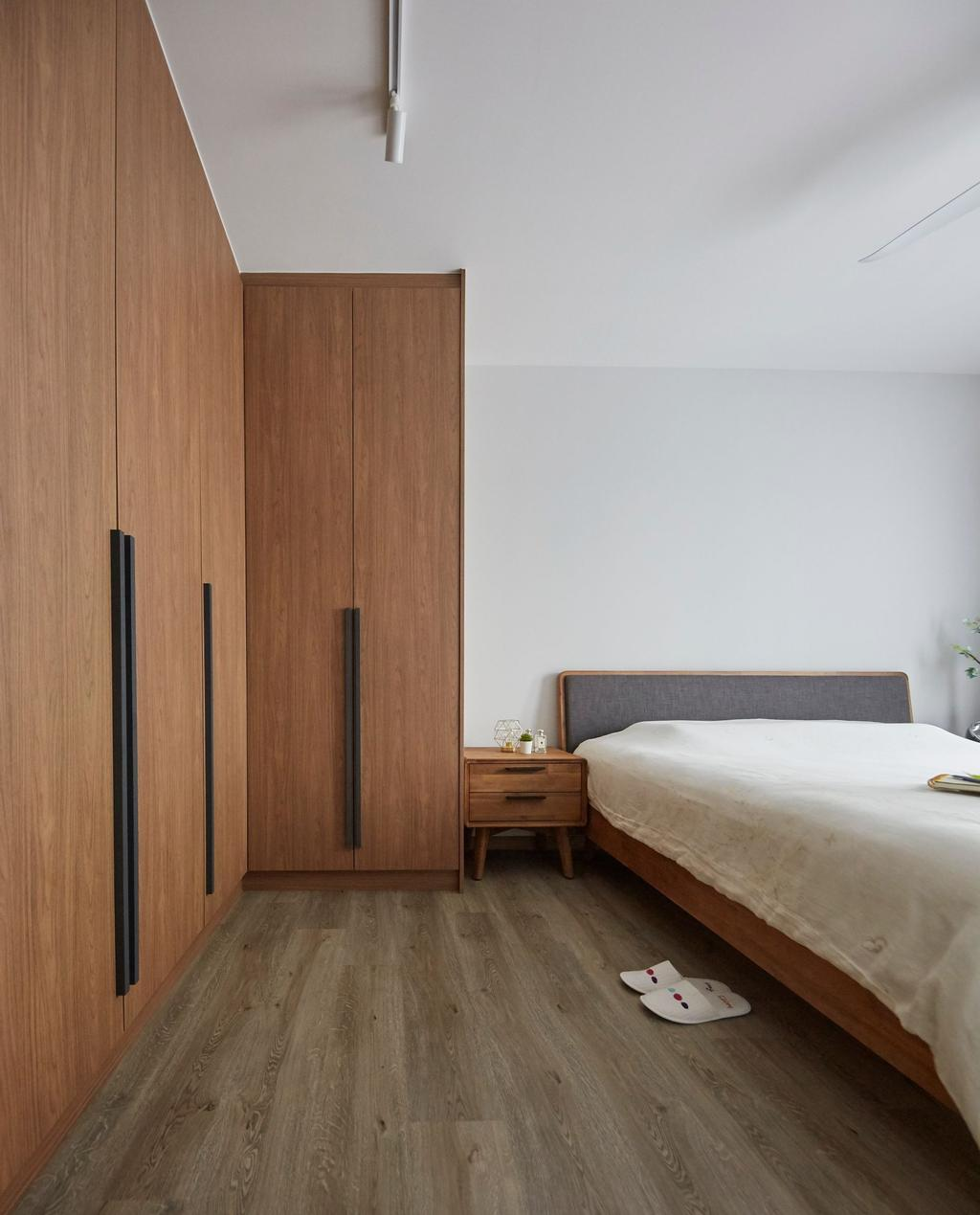 Scandinavian, HDB, Bedroom, Alkaff Crescent, Interior Designer, Carpenters 匠, Contemporary