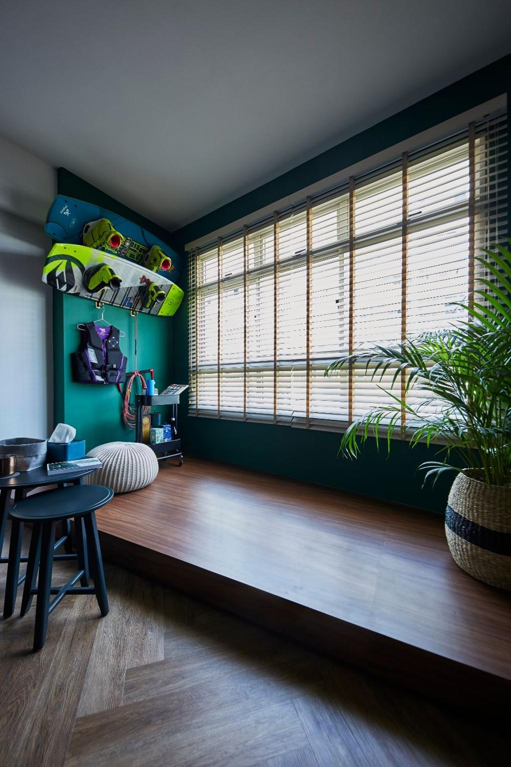 Contemporary, HDB, Living Room, Sengkang Central, Interior Designer, Carpenters 匠, Scandinavian