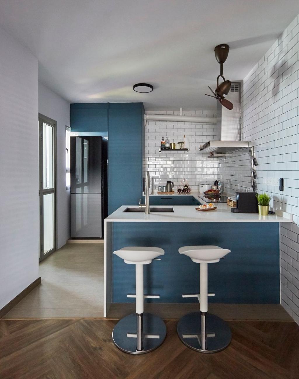 Contemporary, HDB, Dining Room, Sengkang Central, Interior Designer, Carpenters 匠, Scandinavian