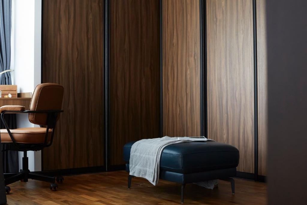 Contemporary, HDB, Bedroom, Sengkang Central, Interior Designer, Carpenters 匠, Scandinavian