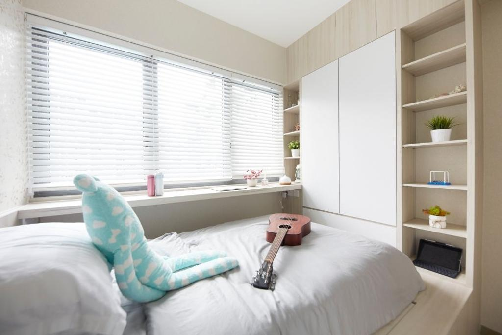 Modern, Condo, Bedroom, The Alps Residences, Interior Designer, Carpenters 匠, Platform, Platform Bed