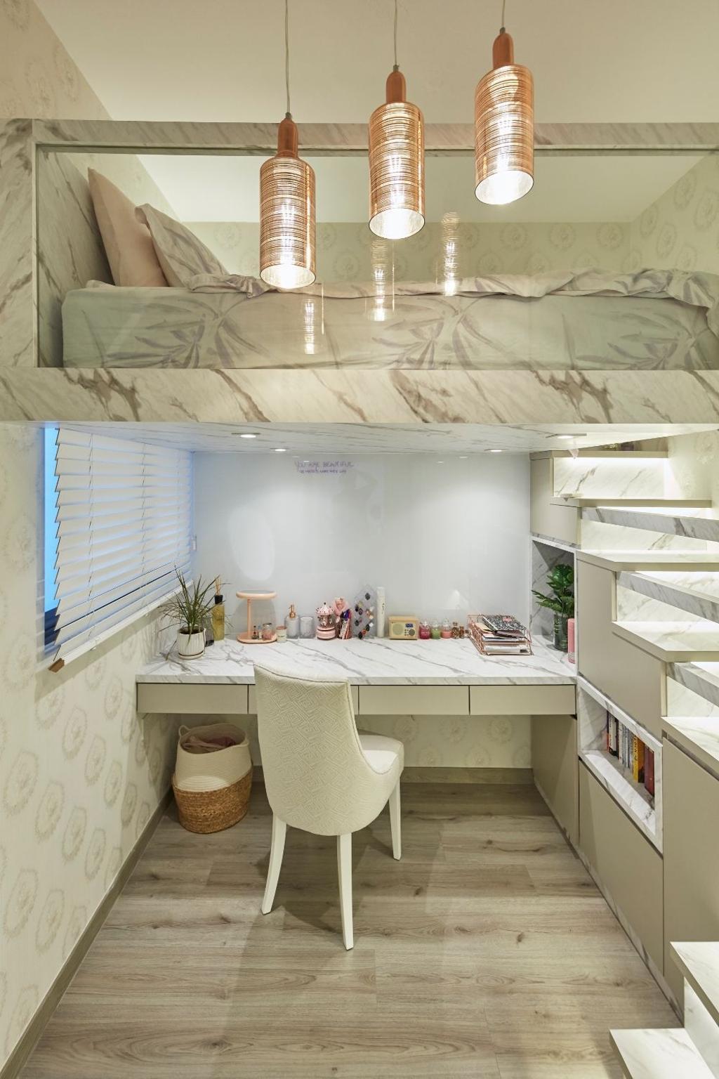 Modern, Condo, Study, The Alps Residences, Interior Designer, Carpenters 匠
