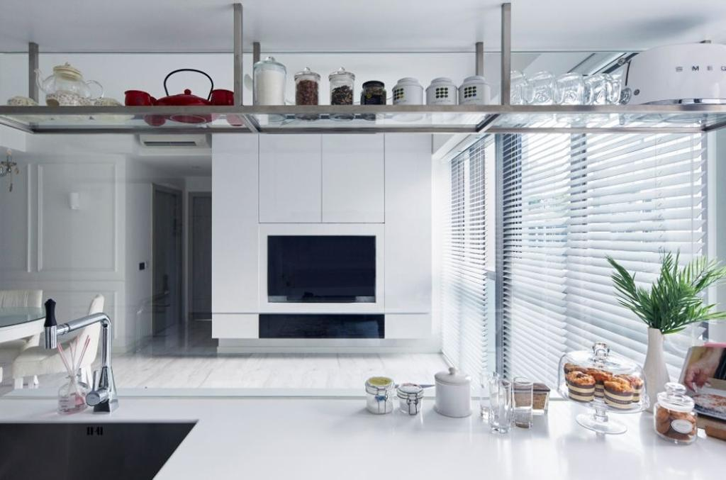 Modern, Condo, Kitchen, The Alps Residences, Interior Designer, Carpenters 匠