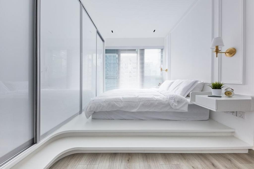 Modern, Condo, Bedroom, The Alps Residences, Interior Designer, Carpenters 匠, Platform Bed