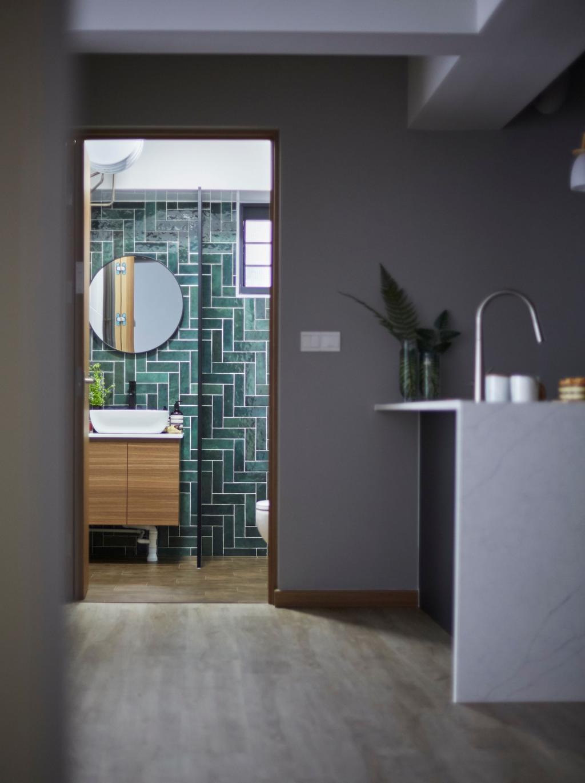 Scandinavian, HDB, Bathroom, Alkaff Crescent, Interior Designer, Carpenters 匠, Contemporary