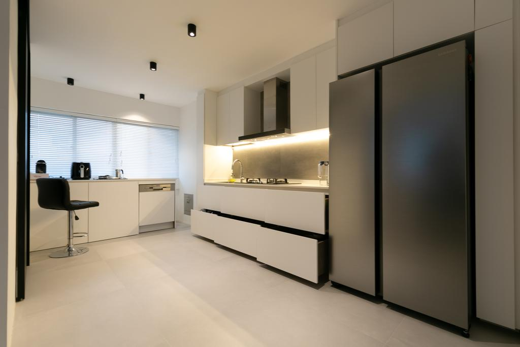 Minimalistic, HDB, Kitchen, Bedok Reservoir Road, Interior Designer, Todz'Terior