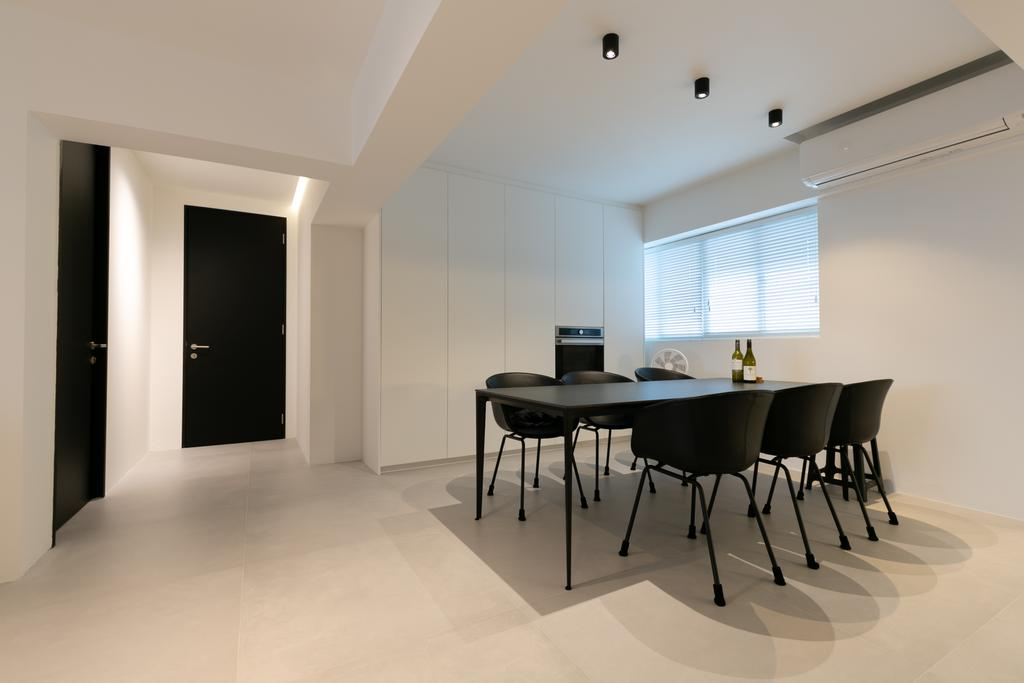 Minimalistic, HDB, Dining Room, Bedok Reservoir Road, Interior Designer, Todz'Terior