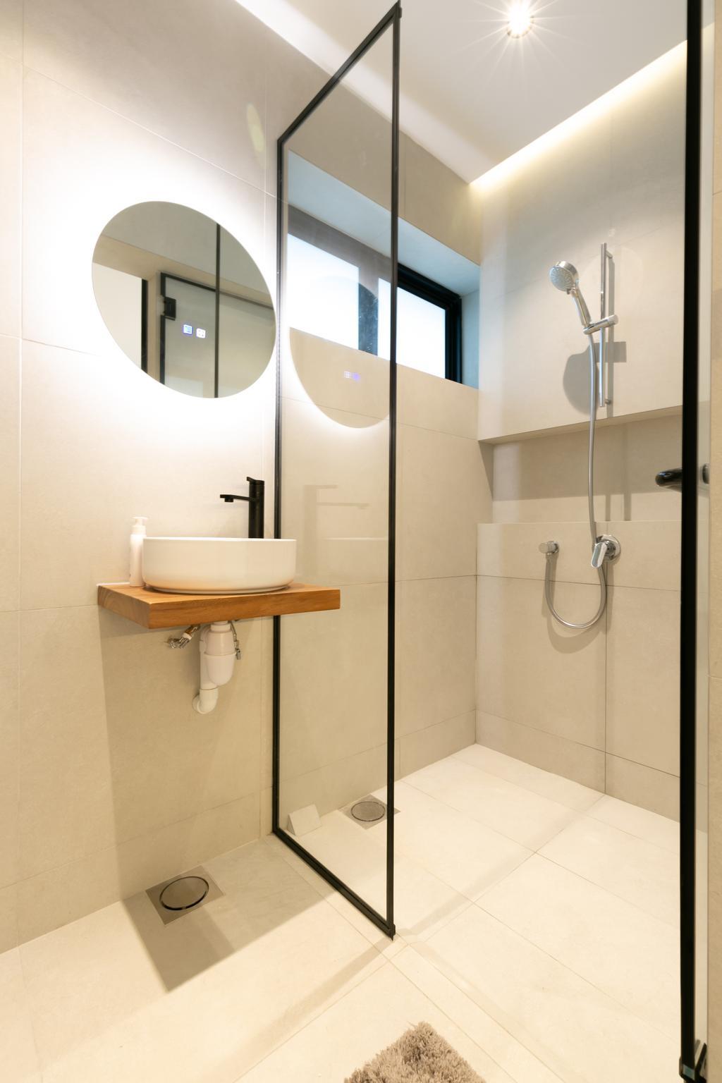 Minimalistic, HDB, Bathroom, Bedok Reservoir Road, Interior Designer, Todz'Terior