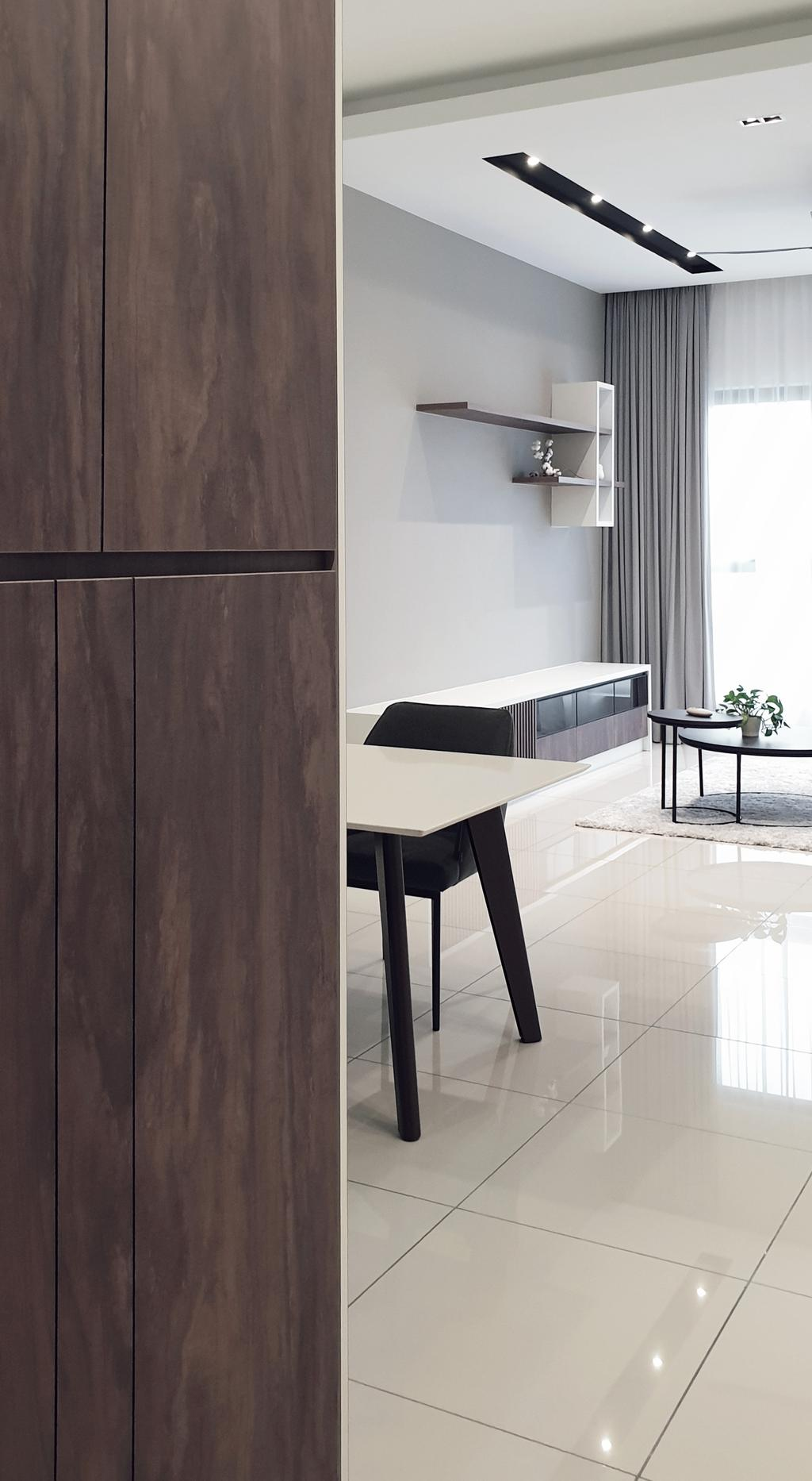 Modern, Condo, Pavillion Residence, Bandar Puteri Puchong, Interior Designer, Josh Thompson Interiors, Minimalistic