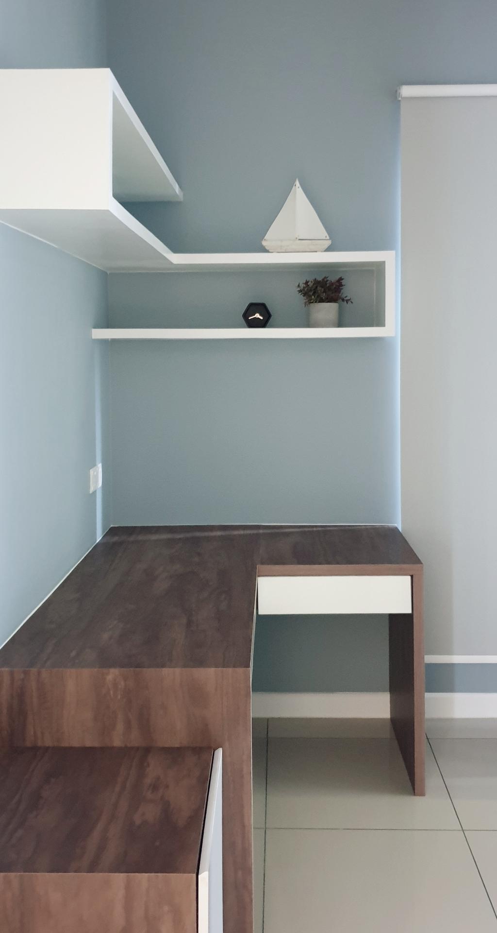 Modern, Condo, Bedroom, Pavillion Residence, Bandar Puteri Puchong, Interior Designer, Josh Thompson Interiors, Minimalistic