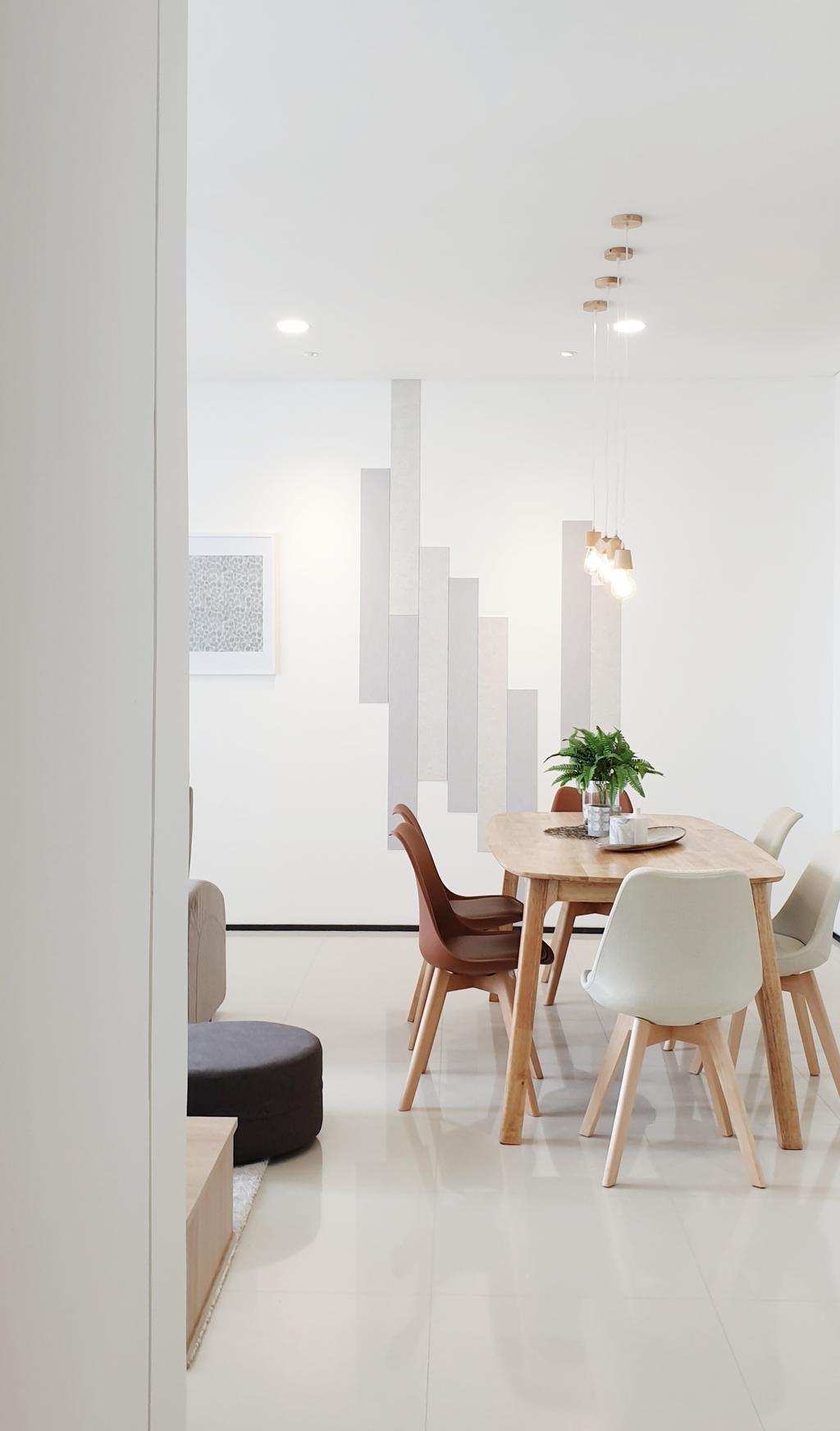 Contemporary, Condo, Dining Room, The Fennel, Sentul, Interior Designer, Josh Thompson Interiors, Minimalistic