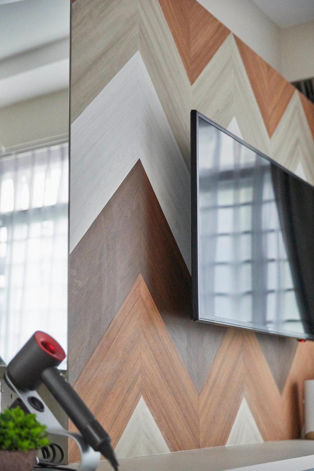 Contemporary, HDB, Living Room, Ghim Moh Link, Interior Designer, The Interior Lab