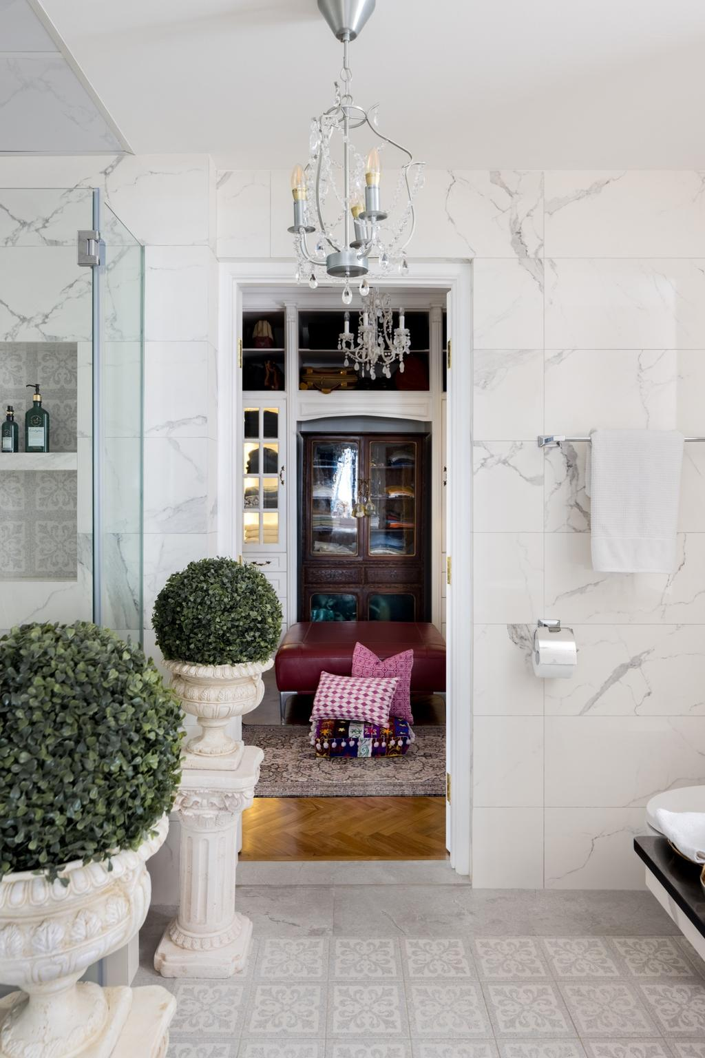 Eclectic, Condo, Bathroom, Tan Tong Meng Tower, Interior Designer, The Local INN.terior 新家室, Vintage