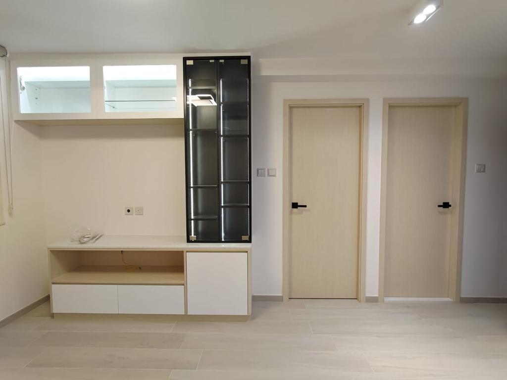 摩登, 私家樓, 客廳, Fu Yu Terrace, 室內設計師, Blue Sky Decoration Design, 當代