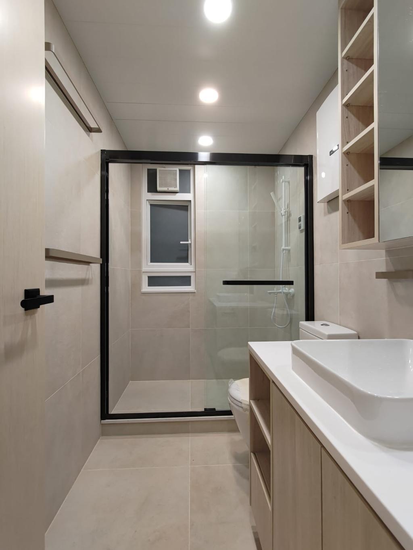 摩登, 私家樓, 浴室, Fu Yu Terrace, 室內設計師, Blue Sky Decoration Design, 當代