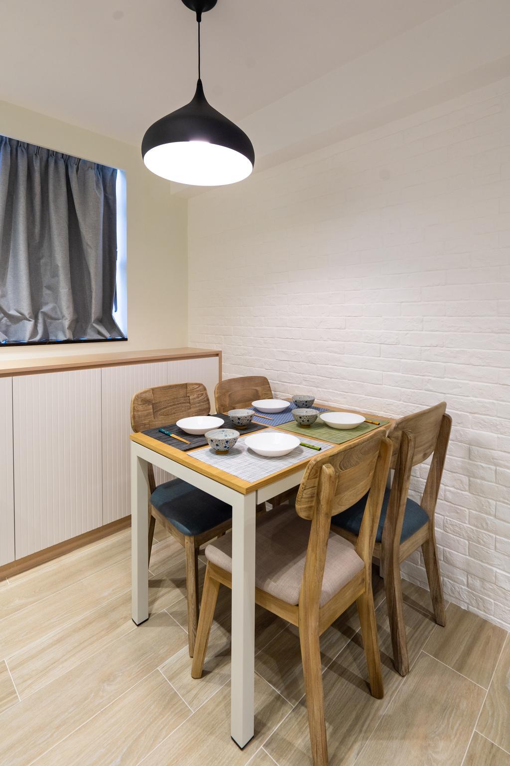 摩登, 私家樓, 飯廳, Parc Oasis, 室內設計師, Blue Sky Decoration Design, 北歐