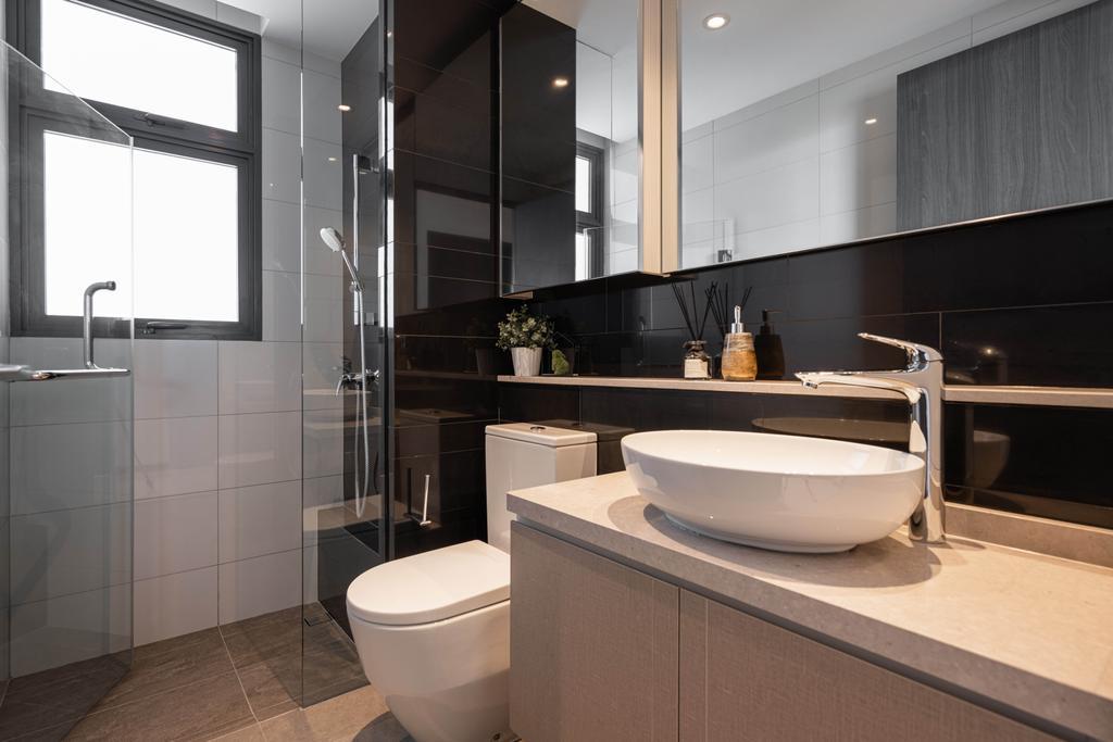 Contemporary, Condo, Bathroom, Gem Residences, Interior Designer, The Orange Cube, Scandinavian